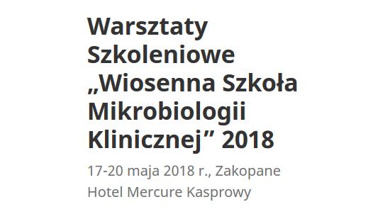 Zakopane Mikrobiologia 2018