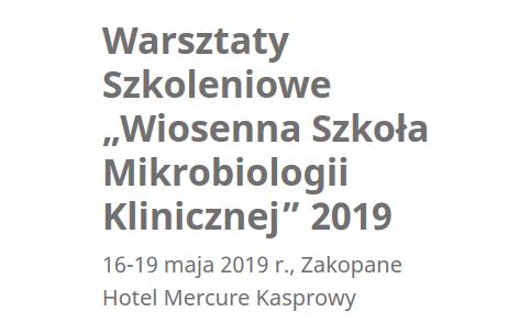 Zakopane Mikrobiologia 2019